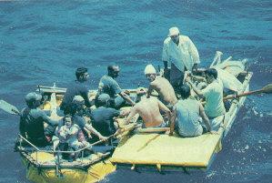 Preocupa a las autoridades incremento de  balseros cubanos