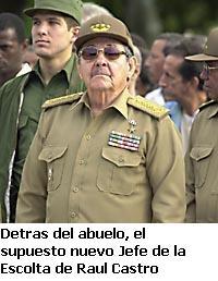 Preocupa en el exilio nuevo jefe de escolta de Raúl Castro